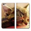 AQUOS R2 SHV42 ケース 手帳型 ベルトなし 猫 にゃんこ キャット ペット ネコ スマホ カバー ……
