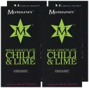 Montezuma's Organic Milk Chocolate Chilli and Lime 100 g (Pack of 4)
