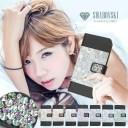 スマホケース 手帳型 全機種対応 スワロフスキー iPhone12 mini iPhone11 Pro Max ケース iPho……