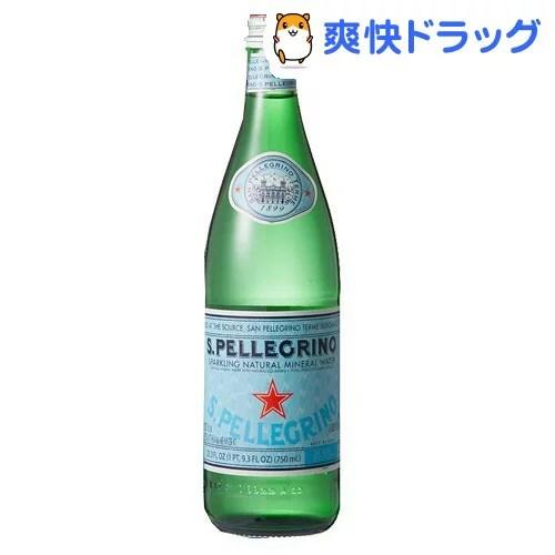 サンペレグリノ 炭酸水(750mL*12本入)【サンペレグリノ(s.pellegrino)】[リフレッシュ ミネラルウォーター 水]
