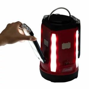 ● コールマン(COLEMAN) クアッドマルチパネルランタン キャンプ用品 ランタン バッテリー 電池式  2000031270