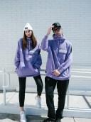 NBCM19XS Purple NOBADAY XSUMMER HOODIE NOBADAY 日本未入荷 未販売 国内唯一の取扱店 パーカー ウェア スノーボード スウェット..