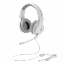 生活関連グッズ ゲーミングヘッドセット/両耳オーバーヘッド/4極ミニプラグ/50mmドライバ/極厚イヤーパッド/コントローラ付属/ホワイト HS-G01WH