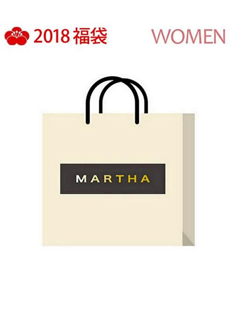 MARTHA [2018新春福袋] MARTHA マーサ【先行予約】*【送料無料】
