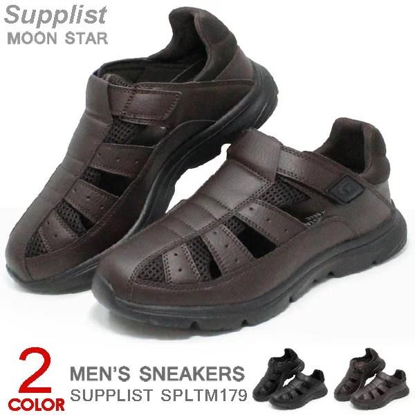 ムーンスター サンダル メンズ スニーカー オフィス 紳士 靴 ウォーキング カジュアルシューズ 幅
