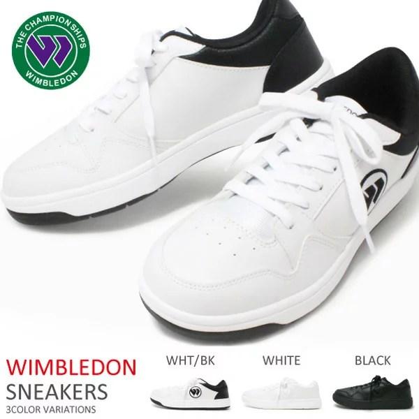 ウィンブルドン 靴 ウォーキングシューズ レディース キッズ メンズ 白スニーカー コートタイプ 0