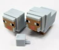 【中古】トレーディングフィギュア 羊 「マインクラフトケシゴム-マイケシ- キャラボックス 動物とのであい編」