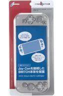 【新品】ニンテンドースイッチハード プロテクトカバー クリアブラック(Nintendo Switch用)