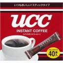 ユーシーシー上島珈琲 UCC インスタントコーヒー スティック 40杯分 4901201103926【納期目安:2週間】