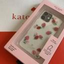 ケイトスペード Kate spade cases strawberry with gems- 12/12Pro  アイフォン ケース ス……