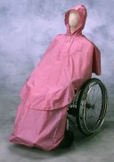 車椅子用レインコートケアーレイン[セパレートタイプ]エンゼル 車椅子 関連 福祉介護用品 (介護用品 介護 福祉用具 車いす 車イス )