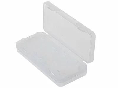 ニンテンドー Switch ゲームカード ゲームソフト収納ケース 収納箱 収納ボックス/4枚用 #クリアホワイト【S.Pack】