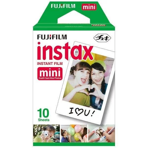 フジフィルム チェキフィルム instax mini 1PK 10枚入り