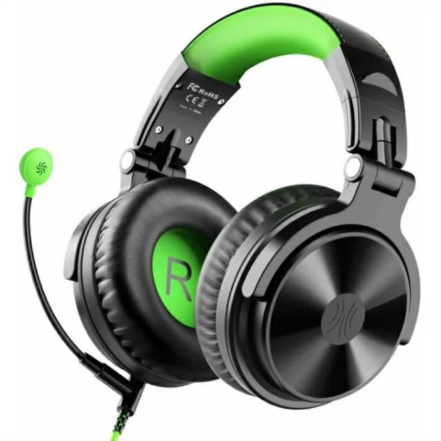 OneOdio DJ ヘッドホン ゲーミングヘッドセット 密閉型モニター オーバーイヤーヘッドフォン スタジオレコーディング 楽器練習 TVイヤホン ゲーム