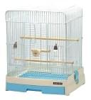 三晃商会 827 イージーホーム バード 35-BL 手乗り (1個) ブルー 小鳥用飼育ケージ