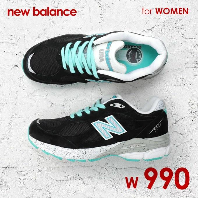 ニューバランス New Balance W990 990 レディース シューズ スニーカー US 激レア USモデル 【 NB ブランド ランニング スポーツ
