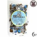 塩黒糖菓子 200g×6袋 沖縄 人気 定番 土産 お菓子 黒砂糖 送料無料