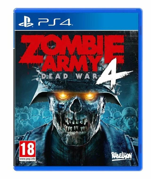 【新品】Zombie Army 4: Dead War ゾンビ アーミー 4 デッドウォー PS4 輸入版 日本語対応