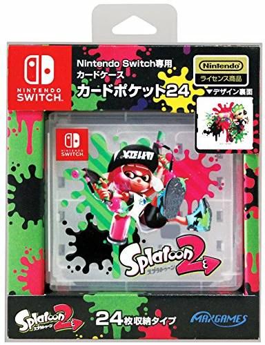 Nintendo Switch専用カードポケット24 スプラトゥーン2[un]