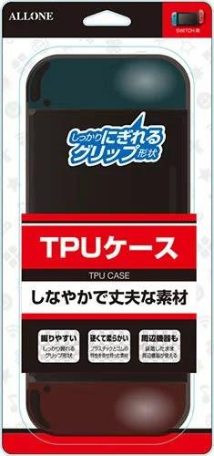 アローン ニンテンドー スイッチ ケース カバー Nintendo Switch 用 一体型ソフトカバー TPUケース キズ・汚れ防止 ALG-NSTPUK[un]