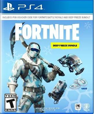 PS4 Fortnite:Deep Freeze Bundle(フォートナイトディープフリーズバンドル 北米版)〈Warner Bros〉11/13発売[新品]