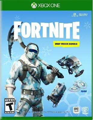 XboxONE Fortnite:Deep Freeze Bundle(フォートナイトディープフリーズバンドル 北米版)〈Warner Bros〉11/13発売[新品]