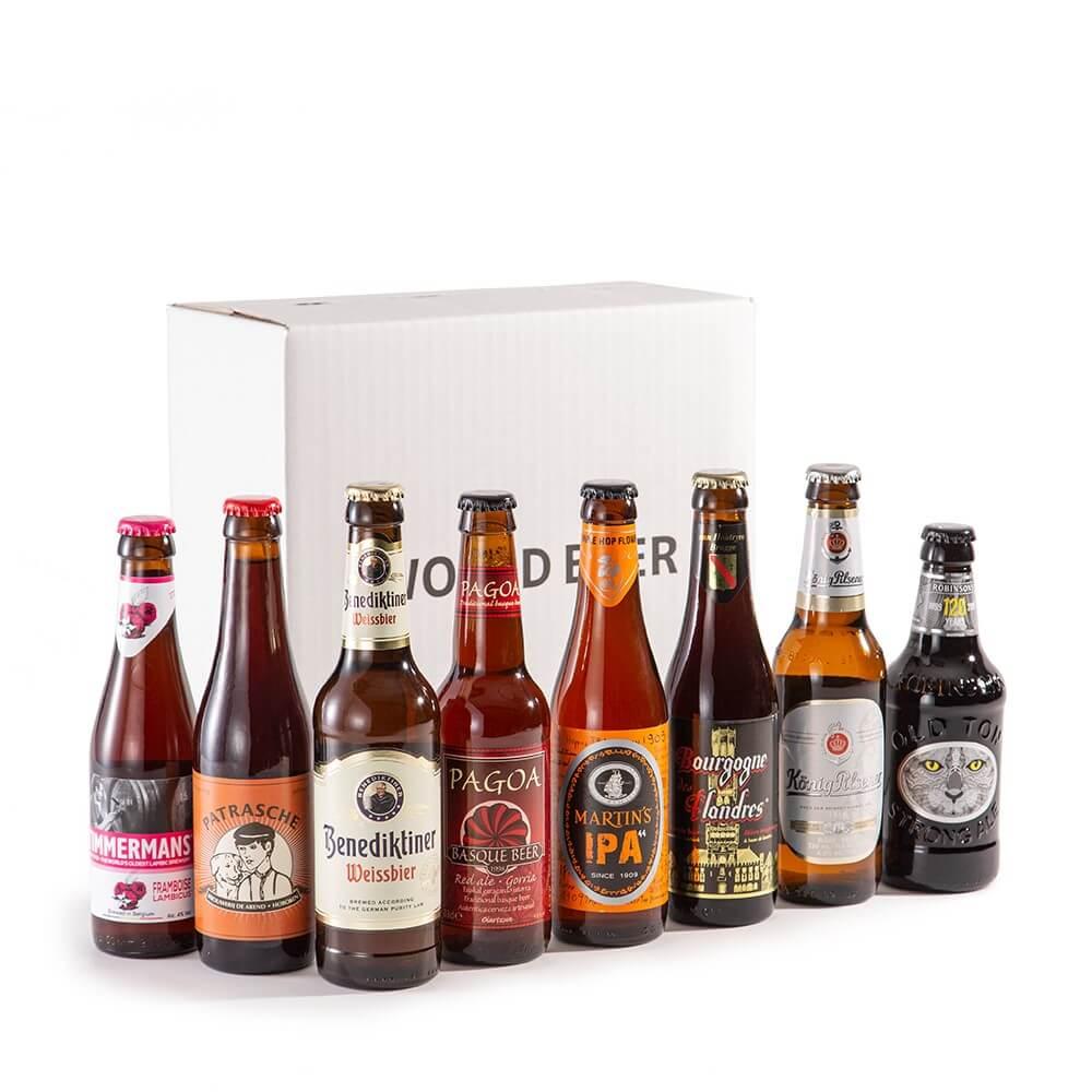【2021父の日|送料無料】世界のビールセット ヨーロッパ編 8本入