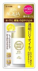 ロート製薬 スキンアクア ウォーターマジックUVオイル SPF50+ PA++++ (50mL) 顔・からだ用 日焼け止めオイル