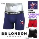 BB LONDON Boxer @Icon Empire2ユニオンジャック-3color ボクサーブリーフ/ボクサーパンツ (ビービーロンドン) 【RCP】【\1,400】