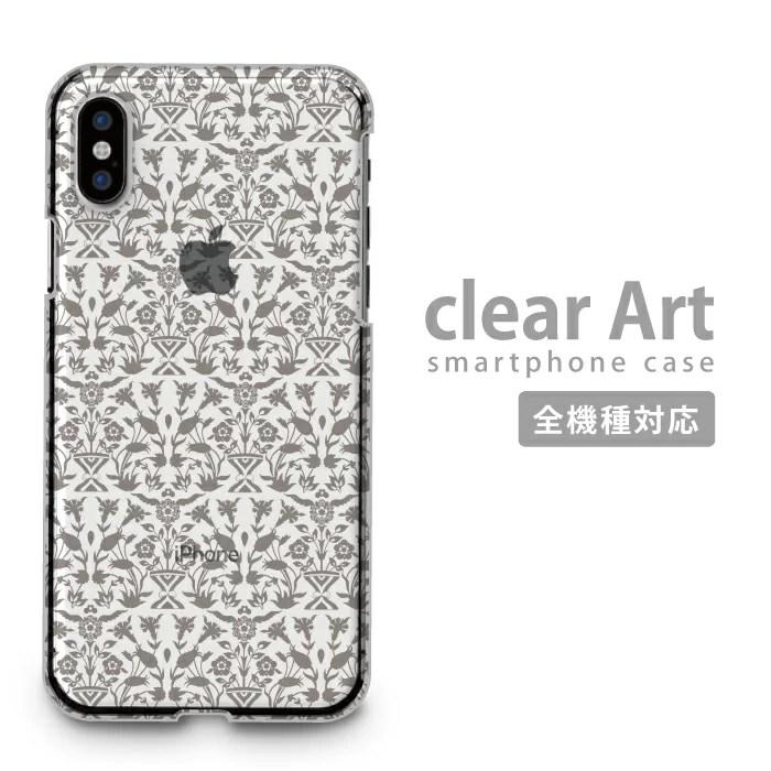 全機種対応 Clear Art ハードケース iPhoneSE(第2世代) iPhone11 X/XS Max arrows 5G Xperia 1 II 10 AQUOS sense3 Galaxy S20+ SE2対応 スマホケース クリアケース クリアアート ストリート