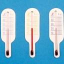 【沖縄・離島でも頑張って送料無料!】シンワ 地温計 O-3 ミニ3個セット 赤・橙・紫 / 黒・青・緑(72623 / 72633)※ネコポス配送