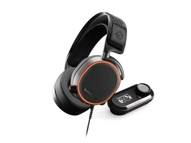 steelseries ヘッドセット SteelSeries Arctis Pro + GameDAC [ヘッドホンタイプ:オーバーヘッド プラグ形状:USB/ミニプラグ 片耳用/両耳用:両耳用] 【楽天】 【人気】 【売れ筋】【価格】