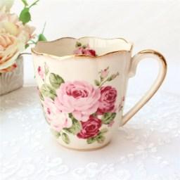 マグカップ 北欧 おしゃれ 可愛い 大きい 薔薇雑貨姫系 花