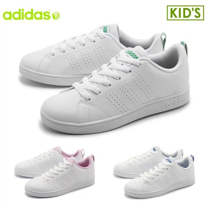 アディダス スニーカー adidas バルクリーン2 K ホワイト×ブルー 他全3色VALCLEAN