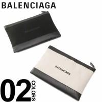 バレンシアガ BALENCIAGA クラッチバッグ ロゴ プ
