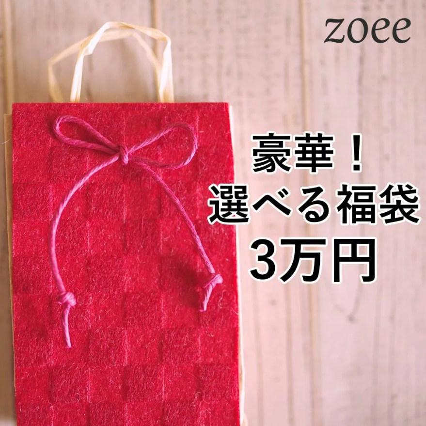 【返品交換不可】選べる福袋チケット アウター2点とバッグが入って3万円