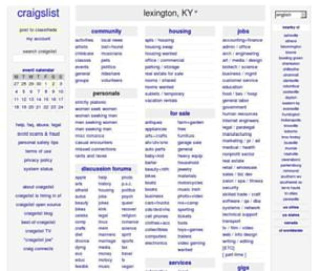 Backpage Lexington Ky Websites Lexington Backpage Com Homes For Rent In Lexington Ky Craigslist