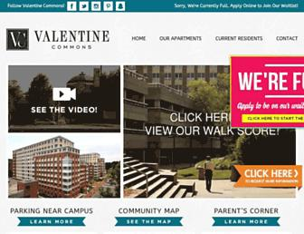 Valentine Commons Student Housing