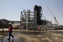 Oljefältet Khurais i Saudiarabien – som ännu inte har lyckats med ambitionen att styra bort från oljeberoendet. Arkivbild.