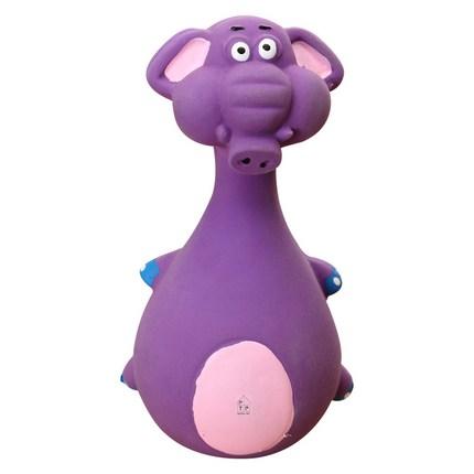 제제펫 애견 라텍스 장난감, 퍼플, 1개