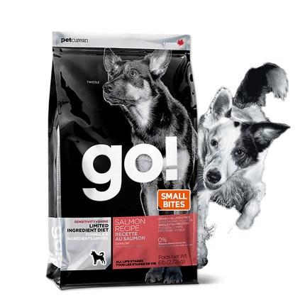 고 LID 연어 스몰바이트 2.72kg 강아지사료, 단품