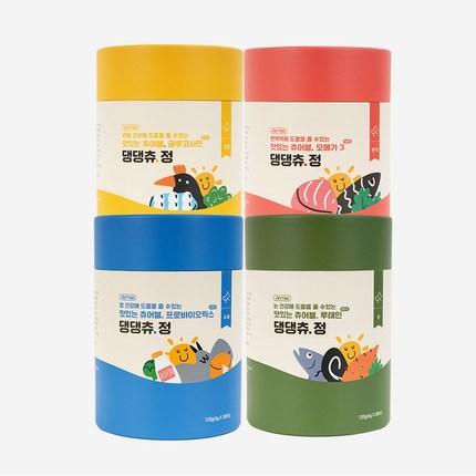 베터 말랑한 영양제 댕댕츄정 대용량 30개입 (오메가3/글루코사민/루테인/프로바이오틱스), 베터 댕댕츄정 프로바이오틱스 대용량 30개입