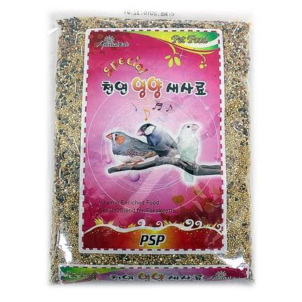 애완조류 먹이 천연영양새사료 600g, 1개