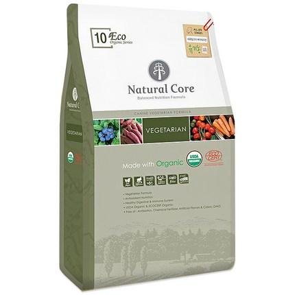 네츄럴코어 전연령 곡물 에코10 베지테리언 애견사료, 5.2kg, 1개
