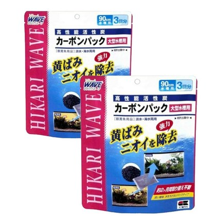 히카리 수질관리 카본팩 3p, 2개입