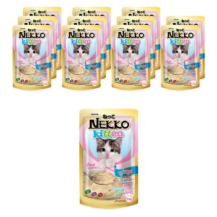 네코 키튼 참치 고양이 사료, 70g, 12개