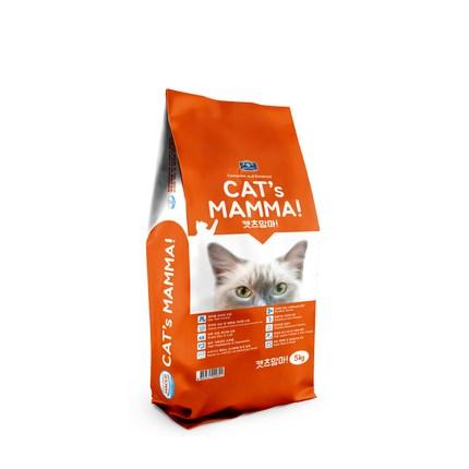 벨버드 캣츠맘마 인도어 전연령 고양이사료, 5kg, 1개