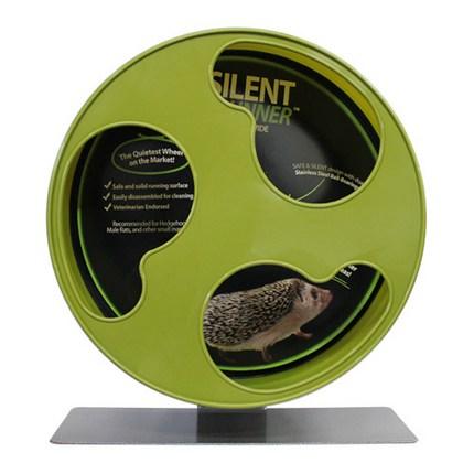 엑조틱뉴트리션 사일런트 러너 와이드휠 햄스터 쳇바퀴 30cm, 혼합색상, 1개