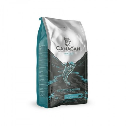 카나간 그레인프리 고양이 사료 스코티쉬 살몬 맛, 4kg, 1개