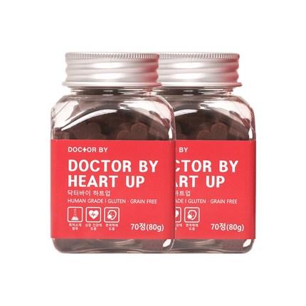 닥터바이 하트업 강아지 심장 면역 특허영양제, 심장 & 면역 케어, 2개
